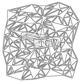 6x6 Stencil Shattered Triangles