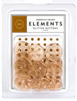 American Crafts Elements Buttons - glitter copper