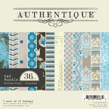 Authentique Paper Pad - Journey
