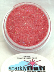 Sparkly Fluff - That's Hot Pink
