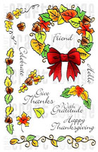 Our Craft Lounge - Crafty Cling Rubber Stamps - Giving Thanks