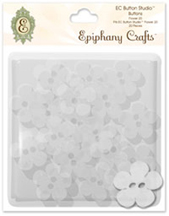 Epiphany Crafts - Button Studio Accessories Buttons Flower 20