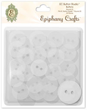 Epiphany Crafts - Button Studio Accessories Buttons Round 20