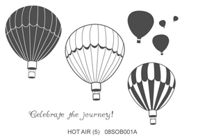 Local King Rubber Stamp - Hot Air