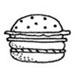 Itty Bitty Hamburger