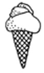 Itty Bitty Ice Cream Cone