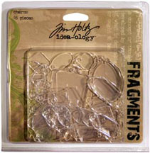 Tim Holtz Idea-Ology Shapes Fragments 48/Pkg