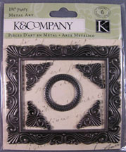 K&Company - Metal Frame with corners and center piece