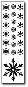 Clearsnap Double-Sided Adhesive Stickers - Flurries