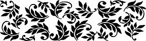 Clearsnap Double-Sided Adhesive Stickers - Leaf Nouveau