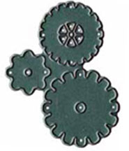 Prickley Pear Acrylic Coordinating Die for Steampunk Gears