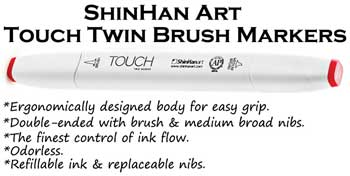 Ergonomically designed for easy grip, the finest control of ink flow