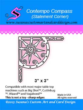 Dies by SCACD - Contempo Compass Statement Corner